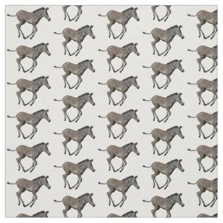 Baby Zebra Frenzy Fabric (choose colour)