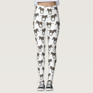 Baby Zebra Frenzy Leggings (choose colour)