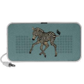 Baby Zebra iPod Speaker