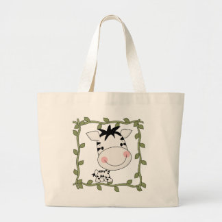 Baby Zebra T-shirts and Gifts Large Tote Bag