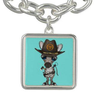 Baby Zebra Zombie Hunter Bracelet