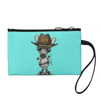 Baby Zebra Zombie Hunter Coin Purse