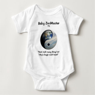 Baby ZenMaster say... (Personalize It!) Baby Bodysuit