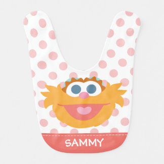 Baby Zoe Big Face | Add Your Name Bib