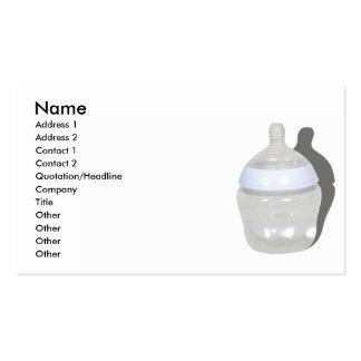 BabyBottleCard, Name, Address 1, Address 2, Con... Business Card