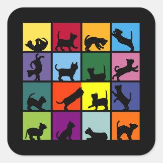 Babycatcube Square Sticker