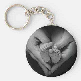 babyfeet keychain