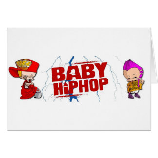 BabyHipHop Cards