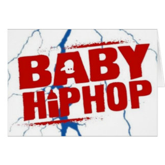 BabyHipHop Two Greeting Card