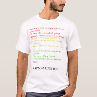 Babylon Rule them T-Shirt