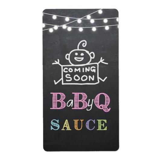 babyq sauce label / babyq sticker