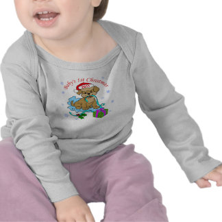 Baby's1st Christmas 2011 Blue Blanky T Shirt