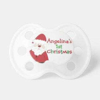 Baby's 1st Christmas Customizable Pacifier