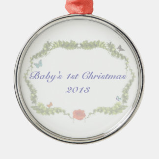 Baby's 1st Christmas Ornament 2013