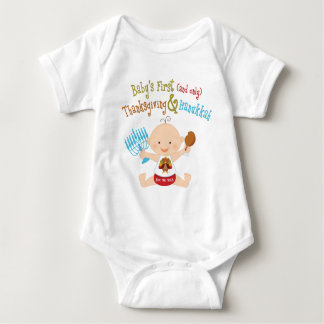 Baby's 1st Thanksgiving & Hanukkah Baby Bodysuit