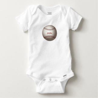 Baby's Baseball Baby Onesie