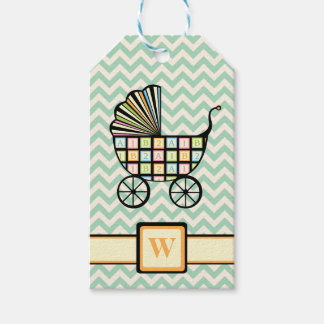 Baby's Blocks Stroller Gift Tag