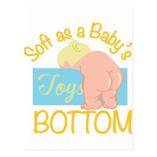 Babys Bottom Postcard