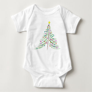 Baby's Christmas Tree Baby Bodysuit