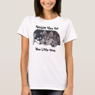 babys copy, Wee Little Ones, Alaskan Klee Kai T-Shirt