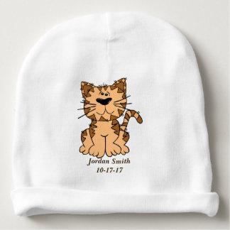 Baby's Cute Tabby Kitten Baby Beanie