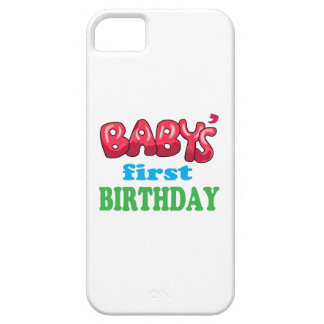 Baby's First Birthday iPhone 5 Case