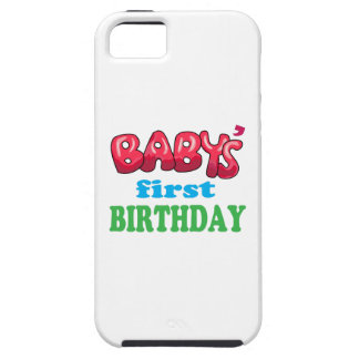 Baby's First Birthday Case For The iPhone 5