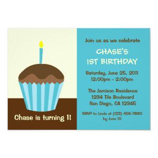 "Baby's First Birthday Invitation 5"" X 7"" Invitation Card"