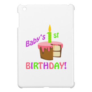 BABYS FIRST BIRTHDAY CASE FOR THE iPad MINI