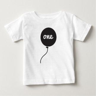 Baby's First Birthday Shirt   White