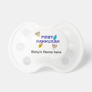 Baby's First Chanukah Baby Pacifier