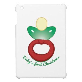 Babys First Christmas iPad Mini Covers