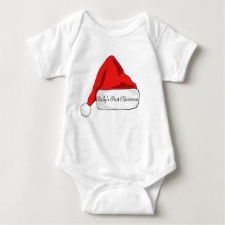 Baby's First Christmas outfit unisex Baby Bodysuit