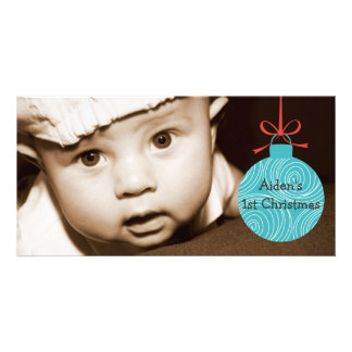 BABY'S FIRST CHRISTMAS PICTURE CARD