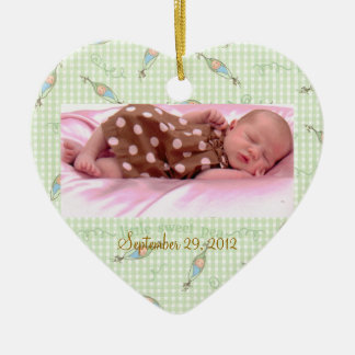 Baby's First Christmas Sweet Pea Ornament Custom
