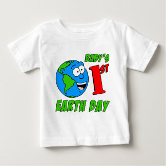 Baby's First Earth Day T Shirts