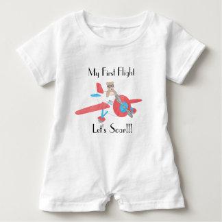Baby's First Flight Romper