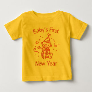 Baby's First New Year Baby T-Shirt