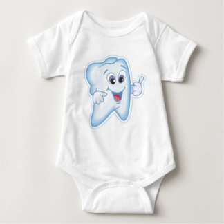 Baby's first toothy! baby bodysuit