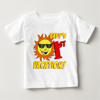 Baby's First Vacation Baby T-Shirt