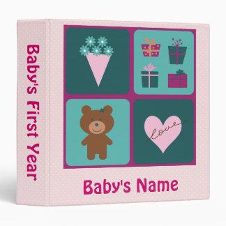 Baby's First Year Binder - Girl