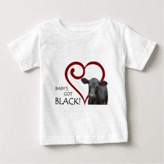 Baby's Got Black Baby T-Shirt