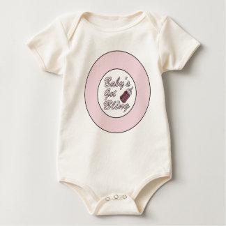 Baby's Got Bling, Organic Crawler Baby Bodysuit