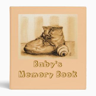 """Baby's Memory Book"" Binder"