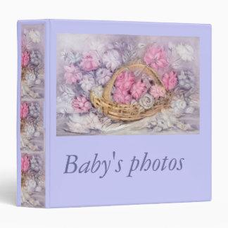 Baby's photos binder