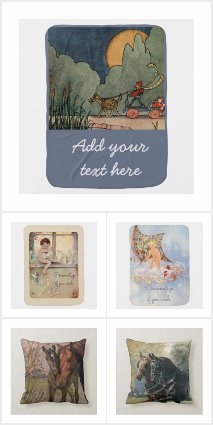 Baby's Room - Blankets Etc. - Vintage Designs