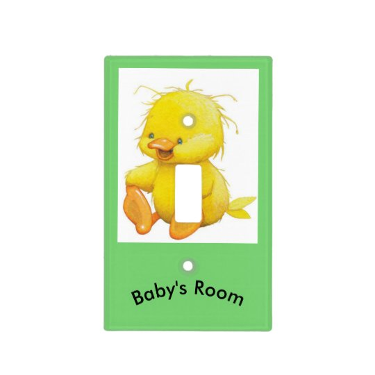 Baby's Room Single Toggle Light Switch
