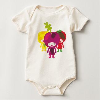 Babyshirt de légume barboteuse
