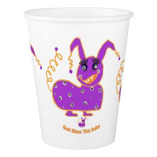 Babyshower papercups fun cute unique paper cup