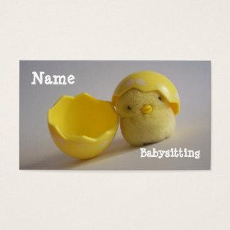 Babysitting Business Card
